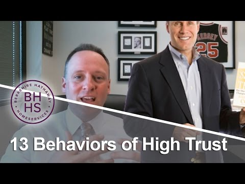 Berkshire Hathaway HomeServices: 13 behaviors of high trust