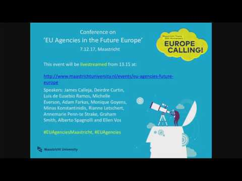 EU Agencies in the Future Europe