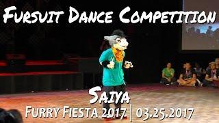 tff 2017 fursuit dance competition saiya
