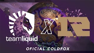 [PT-BR] Team Liquid vs RNG - The International 9 - Prova da Eliminação R3