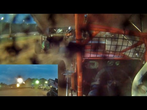 Dan Douville In-Car ESS | Albany-Saratoga Speedway 7-17-2015