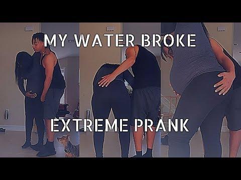 "Extreme ""MY WATER BROKE"" !!!!! (PRANK Gone Wrong)"