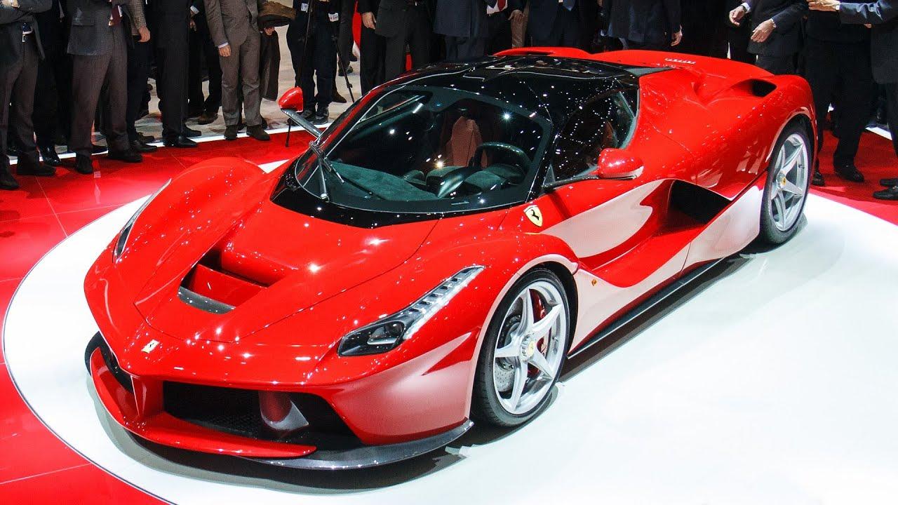Fastest Car In The World Wallpaper 2013 First Look Ferrari Laferrari Geneva 2013 Youtube