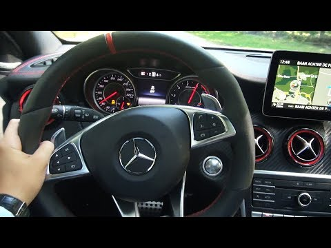 2017 Mercedes A Class A45 AMG 4MATIC + BRUTAL Drive Review Sound Acceleration Exhaust