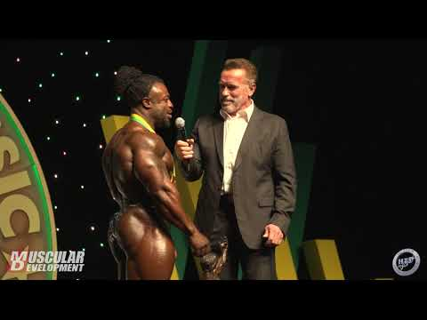 ARNOLD CLASSIC AUSTRALIA 2019 - PRO MEN'S BODYBUILDING AWARDS