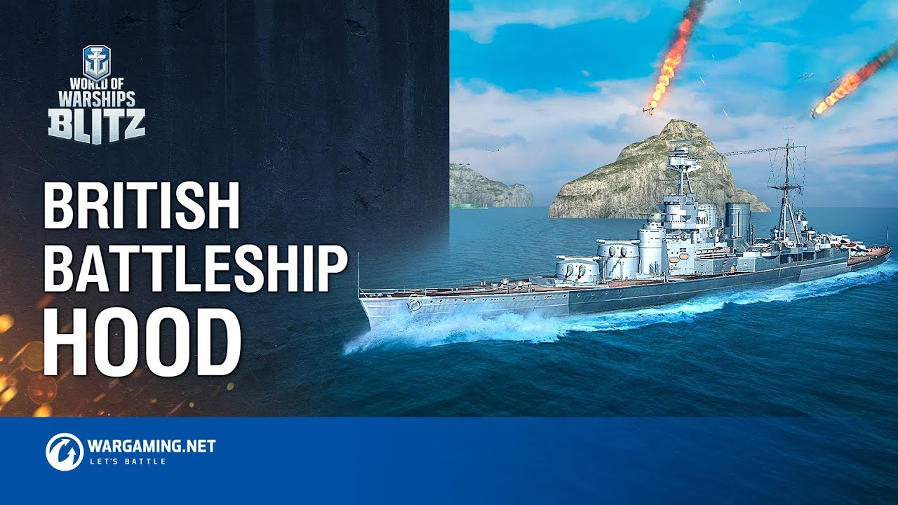 World of Warships Blitz: British Battleship Hood