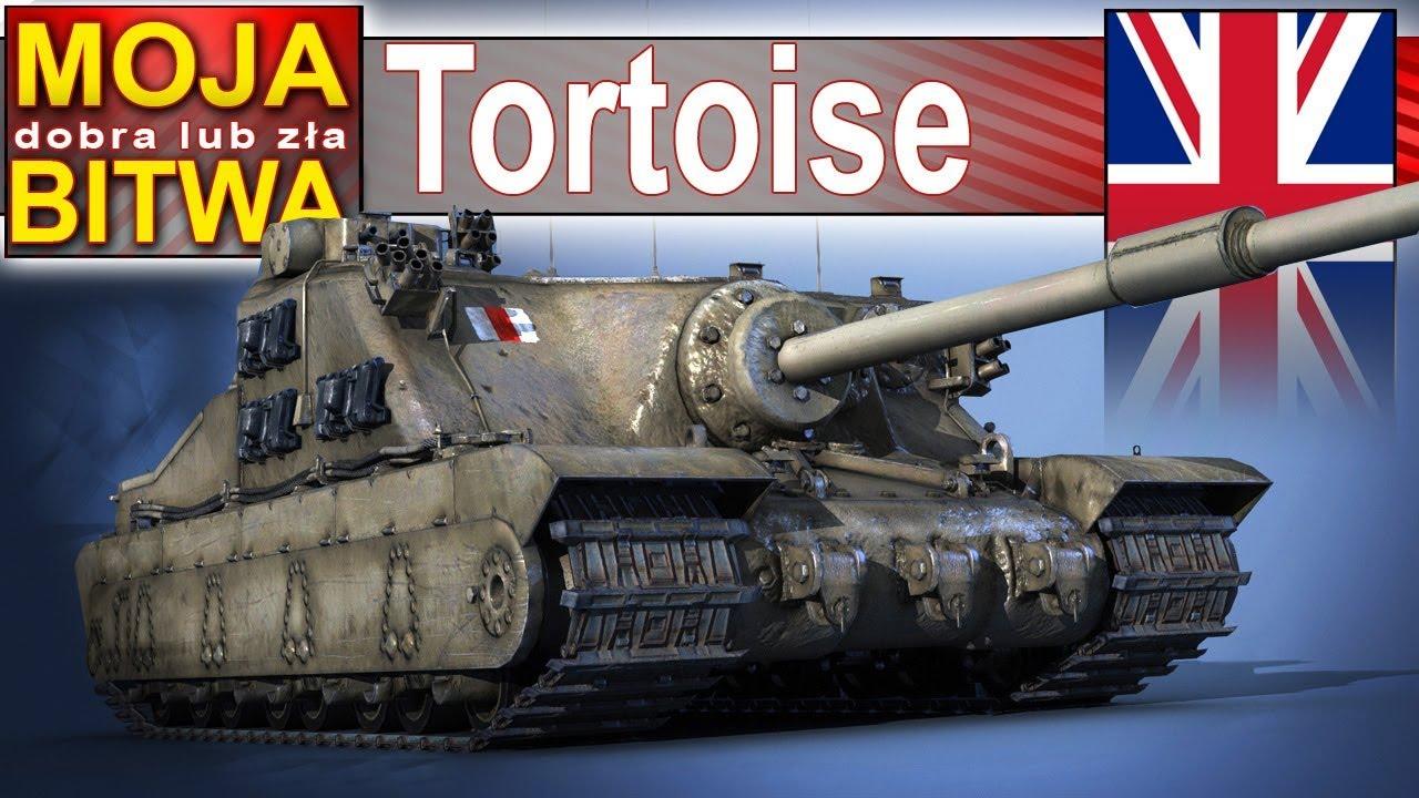 Tortoise – robię szybkiego Asa – mocny po buffie – World of Tanks