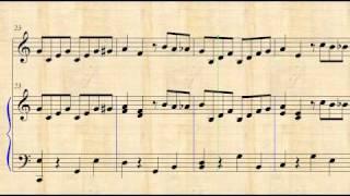 El Tico Tico - Partitura Para Piano