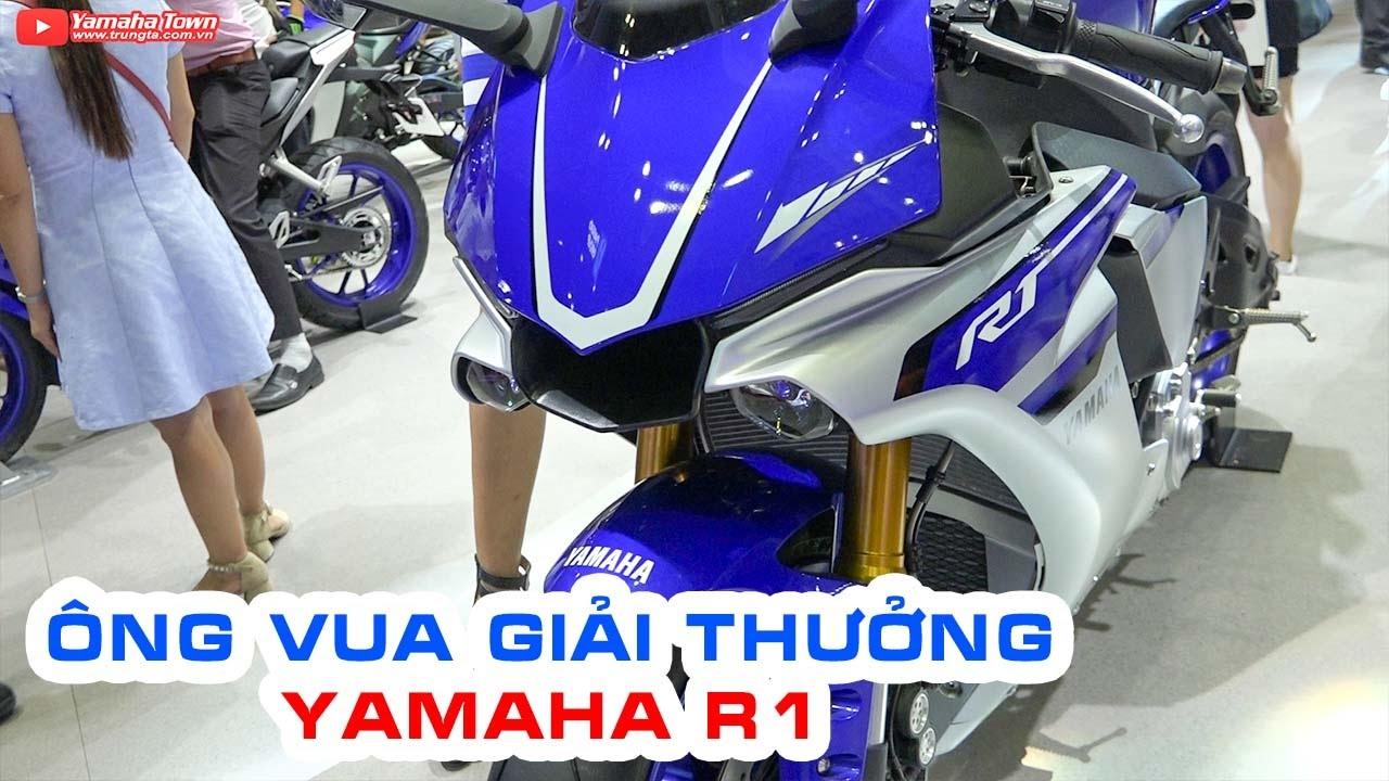 Yamaha YZF-R1 ▶ Đánh giá siêu môtô 1000cc có sức mạnh đáng nể nhất hiện nay!