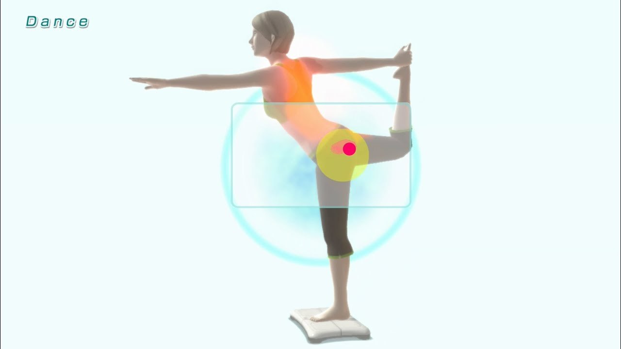 Dance Pose - Yoga Exercise - Wii Fit U - YouTube