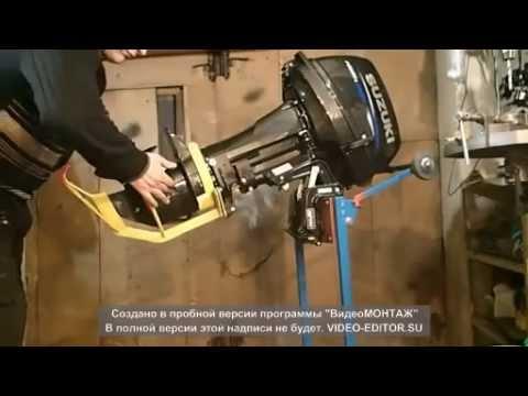 замена винта на лодочном моторе