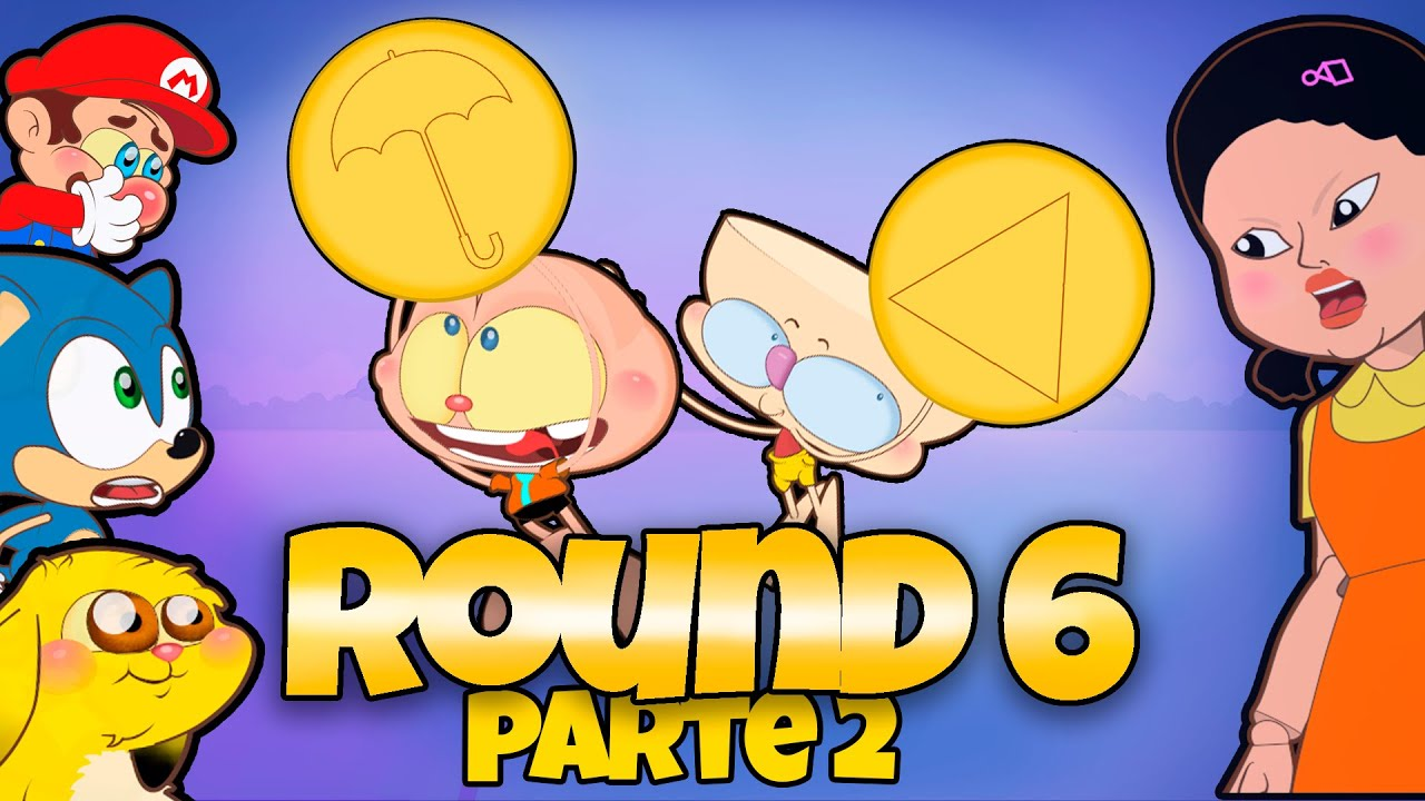 Download Mongo e Drongo e o Jogo do Biscoito de Round 6 - Colmeia de Açúcar - Desenho animado