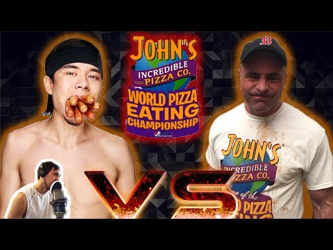 Matt Stonie vs Geoff Esper! World Pizza-Eating Championship Review!