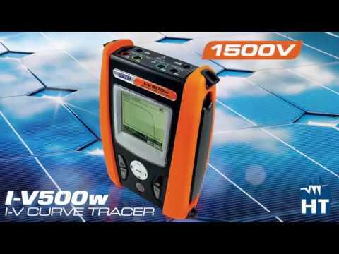 1500V I-V Curve Tracer I-V500w   HT Instruments