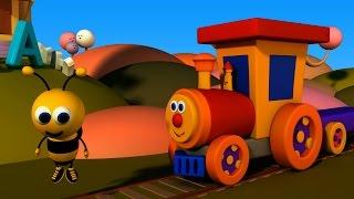 Ben, die Bahn – Ben und Bumblebee treffen das Alphabet | Ben and Bumblebee meet the Alphabets