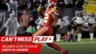 Albert Wilson's 63-Yd Tipped TD Catch! | Can't-Miss Play | NFL Wk 7 Highlights