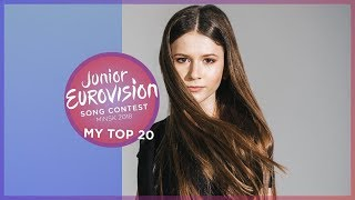 Junior Eurovision 2018 | My Top 20 🇵🇱