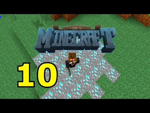 "Minecraft: SMP HOW TO MINECRAFT #10 ""DIAMOND MINING Challenge"" with JeromeASF"