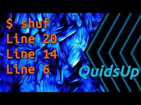 Linux Terminal Basics: Shuffling Files with shuf
