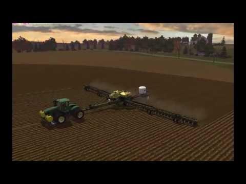 Planting Windchaser:  John Deere 9560R & DB120