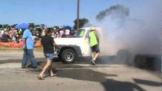 1rst place Stock class TCMA Burn Out 2010 Vernon Texas