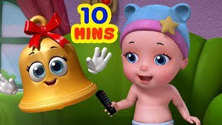 Johny Johny Yes Papa Watching TV | Rhymes Collection for Children | Infobells