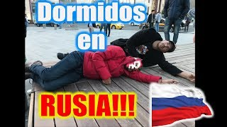 Eugenio and Vadhir Prank Each Other Sleeping in Russia!