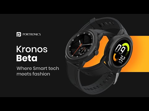 Introducing Kronos Beta Smartwatch: Your 'Ideal' Health companion!