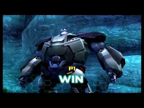 Transformers Prime The Game Wii U Multiplayer Emblem Battle part 3
