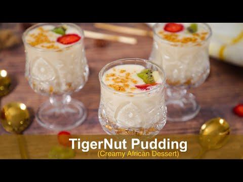 Tastiest African Dessert Recipe - TIGER-NUT PUDDING - Africa's Day Celebration - ZEELICIOUS FOODS
