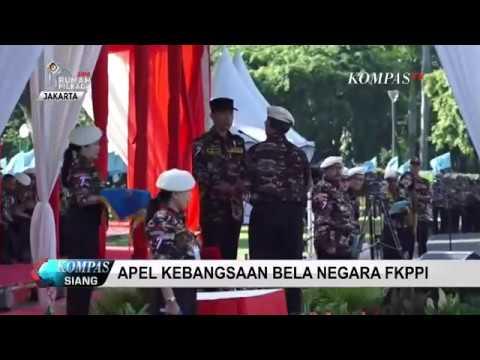Presiden Jokowi Hadiri Apel Kebangsaan Bela Negara FKPPI