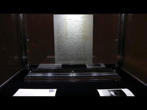 رسالة آينشتاين حول الله والديانة اليهودية بـ 2.89 مليون دولار…  - 14:54-2018 / 12 / 5