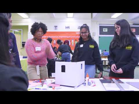 STEAM visits City Polytechnic High School in Brooklyn