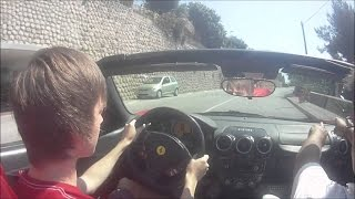 driving ferrari 488 gtb to school fail