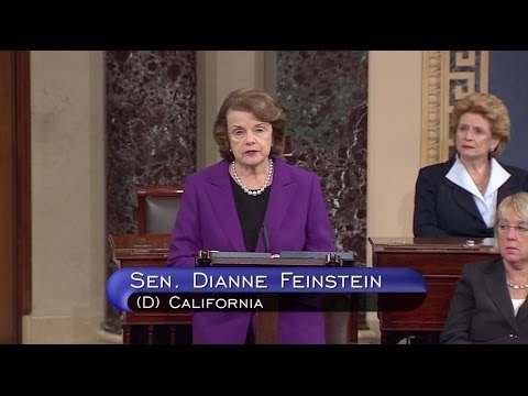 Feinstein On The Release Of CIA Detention And Interrogation Study