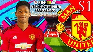 OUSMANE DEMBELE IS AMAZING! FIFA 19: MANCHESTER UNITED CAREER MODE S1 #2