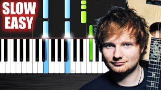 Baixar Ed Sheeran - Photograph - SLOW EASY Piano Tutorial by PlutaX