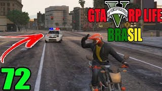 GTA 5 RP LIFE BRASIL - FUGA NA POLICIA, ME DEI BEM ? - (2ªTEMPORADA EP 72)