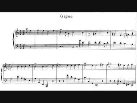 05. J.P.Rameau - Gigue - Premier Livre de Pièces de Clavecin (Scott Ross)