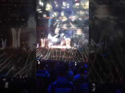 Lady Gaga LIVE Super Bowl LI Halftime Show (with STAGE BUILD)