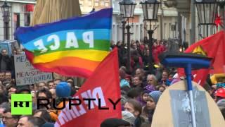 В Дрездене прошла акция протеста против антиисламского движения