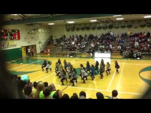 Langley High School Dance Team -Thrift Shop Dance