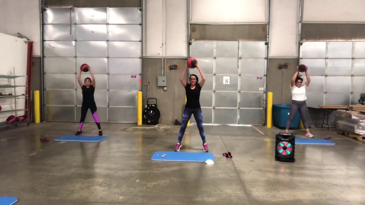 Leg day at the warehouse!