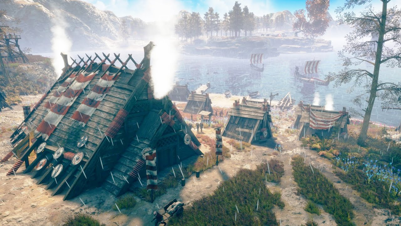 NEW - Epic Viking City Builder with Strategy Base Building & Brutal RTS Combat | FROZENHEIM Gameplay