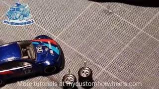 Gambar cover How To Customize Hot Wheels Diecast Cars  - The Basic Wheel-Swap