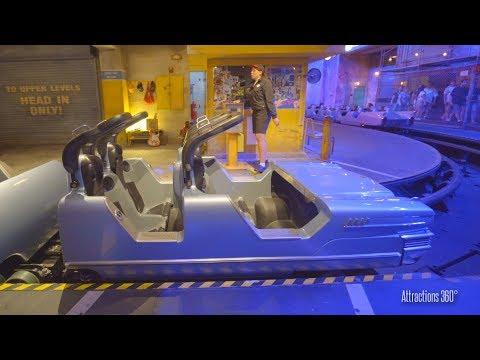 [4k] Rock n Roller Coaster Dark Indoor Coaster - Disney's Hollywood Studios