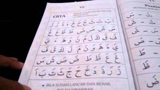 cara cepat belajar al quran buku iqra 1 mukasurat 30 31
