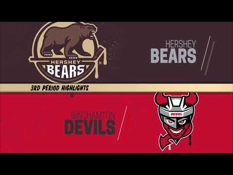 Saturday, April 17, 2021- Binghamton Devils @ The Hershey Bears