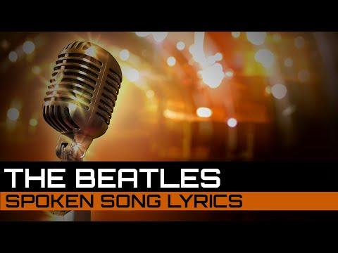 Spoken Song Lyrics: The Beatles - Yesterday