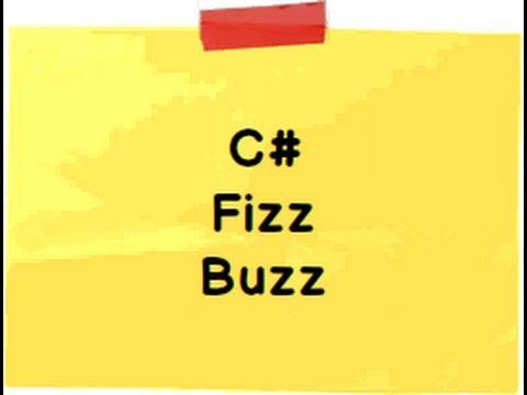 FizzBuzz C# interview questions